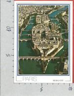 CARTOLINA NV FRANCIA - PARIS - Ile De La Cité - Vue Aerienne - Veduta Aerea - 10 X 15 - France
