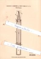 Original Patent - Marion H. Kerner In New-York , USA , 1882 , Federhalter , Füllfederhalter !!! - Schreibgerät