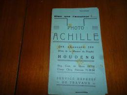 AA3-7 LC139 Pochette Photos - Photographe Achille à Houdeng - Autres