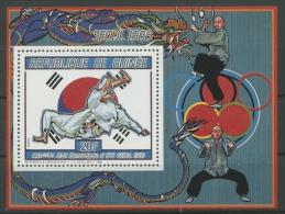Guinea 1987 Olympiade Seoul Block 246 A Postfrisch (C22115) - Guinea (1958-...)