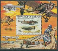 Dschibuti 1979 Geschichte Der Luftfahrt Block 7 Postfrisch (C22094) - Dschibuti (1977-...)
