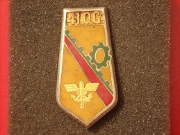 """Insignes Militaire """"41ème Groupement D'Escadron De Quartier Général"""" -  Military Badges P.V. - - Landmacht"""