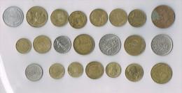 20 Francs 1950,1959,1960,1963,1967...  X 22 !!!!ensemble De Pièces De Monnaie-set Of Coins - France