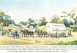 CPM - Russell's Waggon 1833 - Cartes Postales