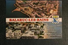 CPM 34 *  BALARUC LES BAINS    * MULTIVUES - Frankrijk
