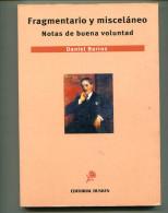 """""""FRAGMENTARIO Y MISCELÁNEO"""" AUTOR DANIEL BARROS EDIT.DUNKEN AÑO 2008 PAG. 198 USADO GECKO. - Ontwikkeling"""