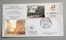 FDC  18/06/1988 Bicentenaire De La Révolution Française Etats Généraux - FDC