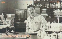 Télécarte Japon - SANTE MEDECINE Bactériologie - HIDEYO NOGUCHI - Bacteriolgy Scientist - Japan Phonecard  - 02 - Personnages