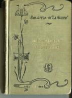 """BIBLIOTECA LA NACIÓN """"LAS DOS PATRIAS"""" AUTOR GODOFREDO DAIREAUX N°314 USADO TAPAS RIGIDAS PAG.301 AÑO 1908 GECKO - Classical"""