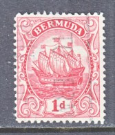 BERMUDA  83  Type  II  (o)  Wmk. 4 - Bermuda