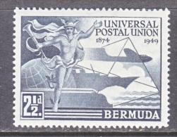 BERMUDA  138   *  U.P.U. - Bermuda