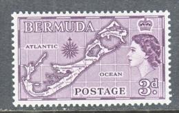 BERMUDA  148   *  MAP - Bermuda