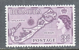 BERMUDA  148   *  MAP - Bermudes