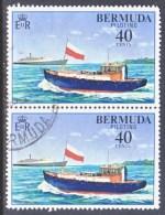 BERMUDA  359 X 2   (o)  SHIP - Bermuda