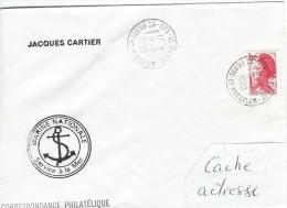 11902  Le JACQUES CARTIER à St PIERRE Et MIQUELON - 1983 - Lettres & Documents