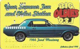 Nevada Palace Casino 1966 Ford Mustang Slot Card - Casino Cards