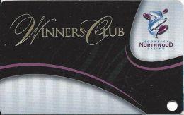 Nooksack Northwood Casino WA Slot Card (BLANK) - Casino Cards