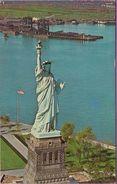 Usa °° N.Y.C °° Liberty Island - Symbole Of Freedom - écrite ° T-P - Long Island