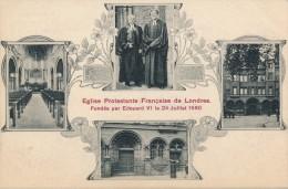 ROYAUME UNI - Angleterre - Eglise Protestante Française De Londres - Fondée Par Edouard VI Le 24 Juillet 1550 - London