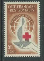 Cote Des Somalis N°  315 X :  Centenaire De La Croix-Rouge Internationale,  Trace De Charnière Sinon TB - Französich-Somaliküste (1894-1967)