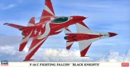 "F-16 C Fighting Falcon "" Black Knights "" 1/48 ( Hasegawa ) - Airplanes"