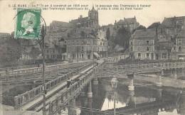 PAYS DE LA LOIRE - 72 - SARTHE - LE MANS - Pont En X Pour Les Tramways - Le Mans
