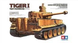 Tiger I Ausführung Afrika   1/35 ( Tamiya ) - Military Vehicles