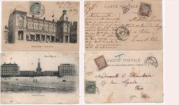 BERCK - PLAGE - 2 CPA Taxées - L' Hopital Maritime - L' Eden Casino (82962) - Berck