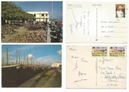 Seychelles & Maldives Islands PPCs & Postal History Lot In 20 Pcs - Maldivas (1965-...)