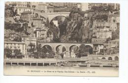 MCS7-  MONACO Le Pont Et Le Viaduc Sainte Dévote - Le Ravin - Monaco