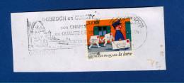 1997 N° 12 N° 3069 N° 3063   AUTOADHÉSIFS PHOSPHORESCENTES  FRAGMENT OBLITÉRÉ - France