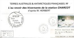 N°428 B -enveloppe TAAF -cachet  IFRTP Base Dumont D'Urville- - Terres Australes Et Antarctiques Françaises (TAAF)