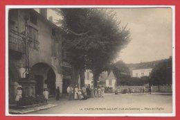 47 - CASTELMORON Sur LOT -- Place De L'Eglise - Castelmoron
