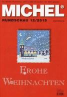 MICHEL Briefmarken Rundschau 12/2015 Neu 6€ New Stamp Of The World Catalogue And Magacine Of Germany ISBN4 194371 105009 - Tedesco