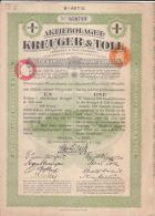 AKTIEBOLAGET .- KREUGER & TOLL   .- SWEDEN - Shareholdings