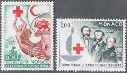 MONACO 1963 N° 607 Et 608  NEUFS** - Nuovi
