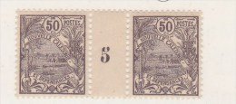 Nouvelles-Calédonie N° 121** Mill 5 - Nuevos