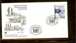 2003 - VN/UNO Vienna FDC Mi. 405 - Definitive Series - In Memoriam [NL156_05] - FDC