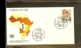 1986 - VN/UNO Geneva FDC Mi. 137 - Africa In Crisis - FDC