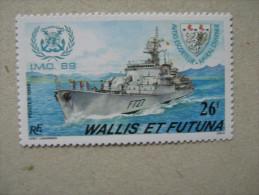 WALLIS ET FUTUNA    P384  * *  AVISO AMIRAL CHARNER - Nuovi