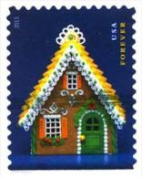 Etats-Unis / United States (Scott No.4819 - Maison Pain D'épice / 2013 / Gingerbread House) (o) P3 - United States