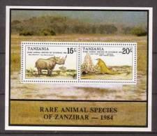Tansania , Block , 1985 , Mi.Nr. 41 ( 262 / 263 ) ** / MNH - Tansania (1964-...)