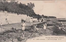 - 33 - GIRONDE - ARES - BORD DE LA PLAGE - - Arès