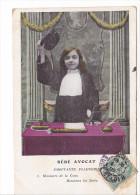 25478 - Six 6 Cpa Enfant  Bébé - Avocat émouvante Plaidoirie - Baby -sans éd - Lawyer - Enfants