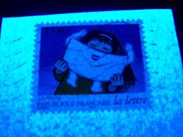 1997 N° 13 N° 3070 N° 3065 AUTOADHÉSIFS PHOSPHORESCENTES FRAGMENT   OBLITÉRÉ - Adhesive Stamps