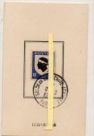 PARIS  SALON  DE LA MACHINE AGRICOLE CACHET TEMPORAIRE DU 8/3/1948 - ATM - Frama (vignette)