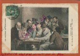 CPA ART PEINTRE LES MAITRES DE L'ESTAMPE EPOQUE CHARLES X 1836 L'OEUVRE DE BOILLY L  Jeu De Dames DEC  2015  171 - Peintures & Tableaux