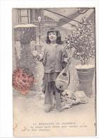 25483 -six  6 Cpa- Mendiante Du Pantheon - Musicien Mandoline Hivers Fillette Boy Mendiant -sans Ed - Enfants