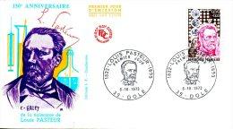 FRANCE. N°1768 De 1973 Sur Enveloppe 1er Jour. Pasteur. - Louis Pasteur