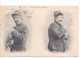 """25485 -ed  BERGERET - """" L'araignée Du Pitou """" Matin Chagrin Police Espoir Permission - Soldat"""